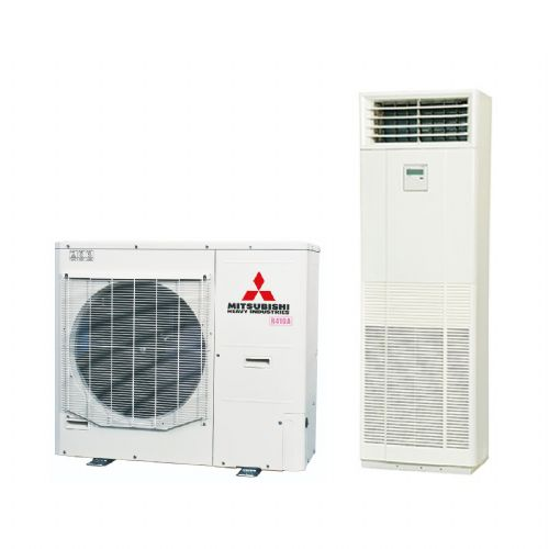 Mitsubishi Heavy Industries Air Conditioning FDF140VD Floor Mounted Heat Pump Hyper Inverter 14Kw/48000Btu B 240V~50Hz
